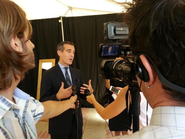 LA Mayoral Summit with Mayor Eric Garcetti