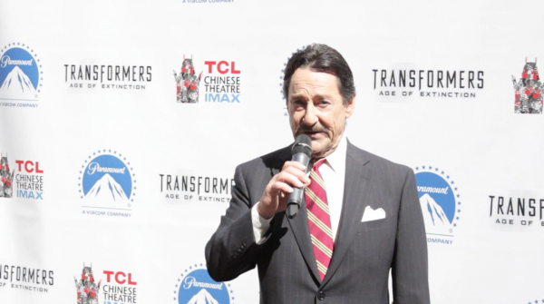 Peter Cullen / Optimus Prime Walk-Of Fame Highlights