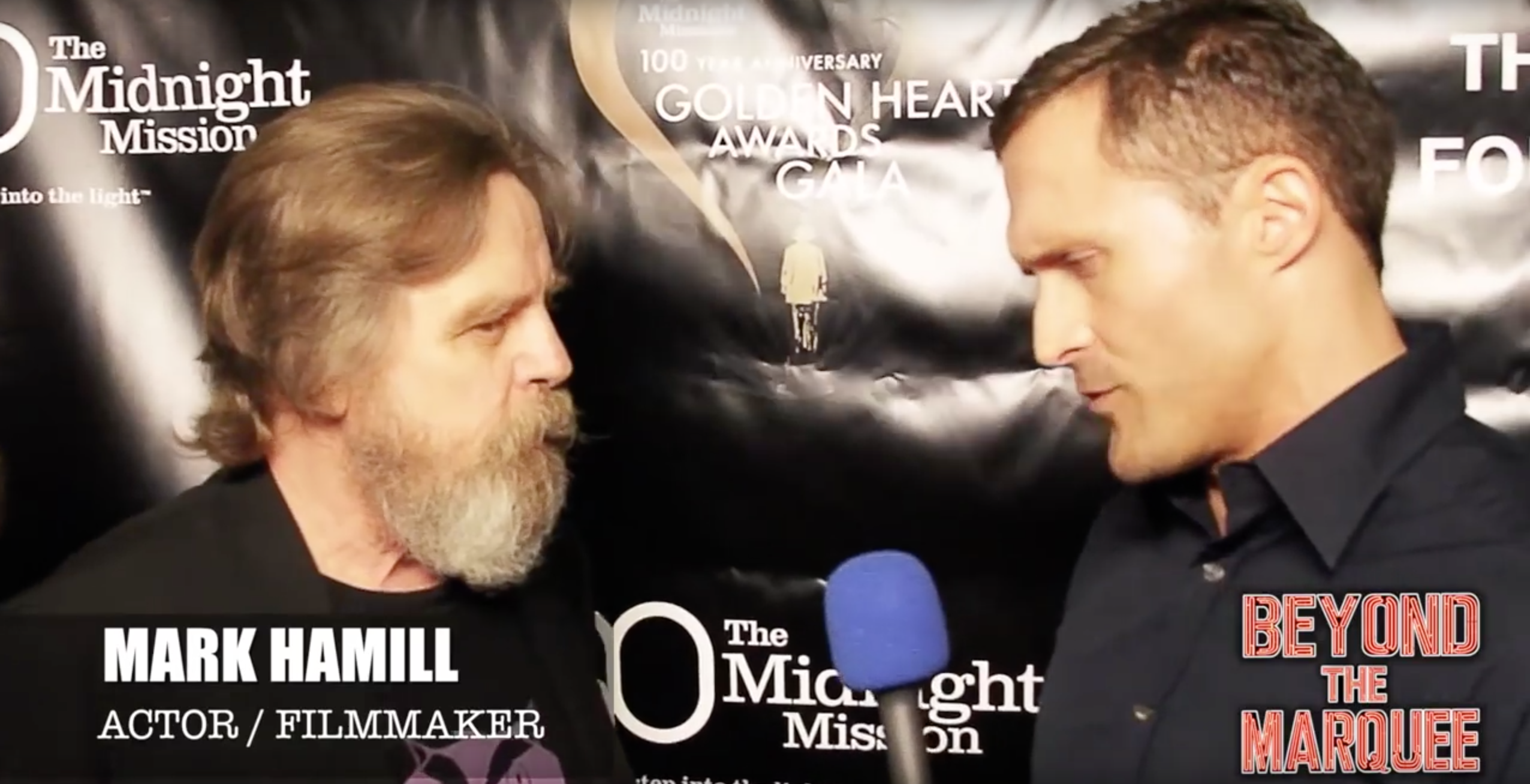 Mark Hamill (aka Luke Skywalker) talks to Beyond the Marquee about Raccoons, the Homeless, oh and that new Scruffy-Looking Jedi Beard!!!