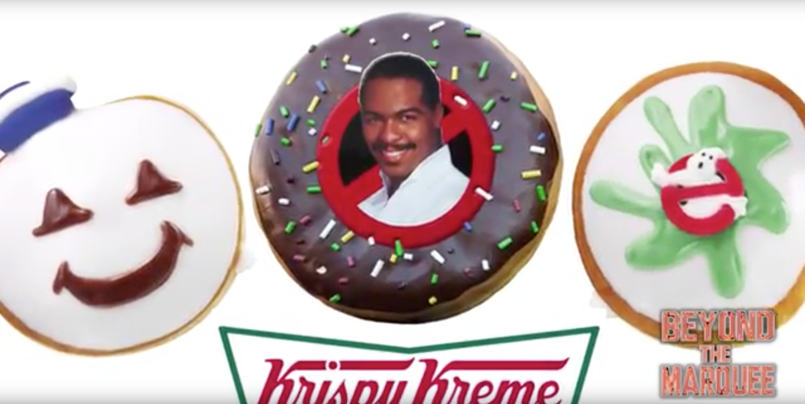 Ghostbusters Songwriter Ray Parker Junior Wants His Face on a Krispy Kreme Donut